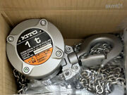 Kito Compact Chain Block Cx010l 1.0 Ton X 2.5 M From Japan New