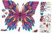 - Animal Wooden Jigsaw Puzzles For Kids 12+ L - 12.2 X 12.2 In, 130 Pcs