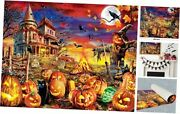 Puzzles For Adults 1000 Piece Wooden Halloween Jigsaw Puzzles 1000 Pumpkin