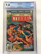 🔥1976 The Eternals 3-cgc 9.8-first Appearance Of Sersi-white Pages-marvel🔥