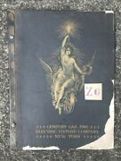 Original 1909 Lighting / Lamp Catalog Century Gas And Electric Fixture Co. N.y.