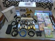 Star Wars Xbox 360 Console 320gb Kinect Limited Edition System Bundle 9 Games