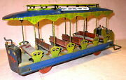 Converse 175 City Hall Park Floor-toy Trolley -lioneland039s First Train 300 1902