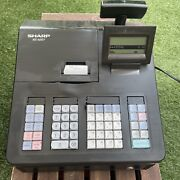 Sharp Xe-a207 Electronic Cash Register No Key, No Manual Tested Works Read