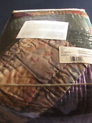 Multi-color King Size Bed Quilt Sears 2006 Beauty Estate Find Unused Washable