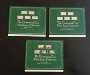 Lot Of 3 1975 The Centennial Car Mini-ingot Collection Franklin Mint And Papers