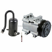 For 1989 Ford F-150 F-250 And Bronco Ac Compressor W/ A/c Drier And Orifice Tube Tcp
