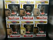 Funko Pop Basketball Usa Dream Team Complete Set Target Excl W Protectors Nm-m