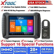 Xtool X100 Pad3 Elite Auto Programmer Car Diagnostic Scanner Pin Code Reading Us