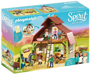 Playmobil Spirit Riding Free Barn With Lucky, Pru And Abigail