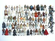 Star Wars Toy Lot 90s Kenner Micro Machines Action Fleet Action Figures And More
