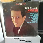 Andy Williams Moon Rivers And Other Great Movie Themes- Original Vinyl Lp Album