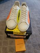 Louis Vuitton Luxembourg 1a4n5y Low Virgil Ss19 Sneaker Rare 9.5 Us Lv 8.5 New