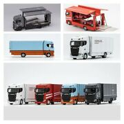 Pre-order Gcd 164 Scania S730 Double Deck Gull Wing Tow Truck Model Car