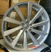 22and039and039 Inch Giovanna Kapan Silver Wheels Tires S550 S63 Gle Bmw X5 X6 Rims A7 A8