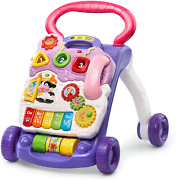 Vtech Sit-to-stand Learning Walker Frustration Free Packaging Lavender Amazo