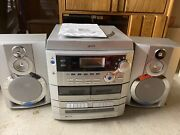 Gpx Compact Stereo System Am/fm Cassette Recorder/player Vintage