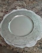 Handcrafted Pewter By John Somers, Brazil, Plate Charger Tray, Grape Vine Design