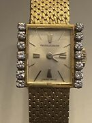 Jaeger Le Coultre 18ct Yellow Gold Vintage Ladies Watch. Exceptional Condition