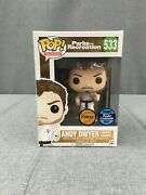 533 Funko Pop   Andy Dwyer Johnny Karate   Flagship Fugitive Toys Exclusive