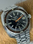 Vintage Longines Ultra-chron Ref 7970-1 Automatic Diver Watch From 1969