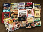 Big Lot Woodworking Books Tools Remodeling How To Bible Wiring Plumbing