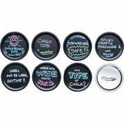 Masontops Wide-mouth Chalk Top Canning Jar Lids 8-count Ctw8 Pack Of 48