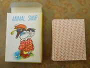 Old Maid Mcm Hong Kong Cards Donkey Snap Happy Family Small Paper Complete Mint