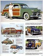 1949 Ford Article - Must See + Convertible + Woody Wagon + F5 Stake Truck + F3