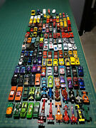 Lot Of 165 Die Cast 1/64 Cars - Hot Wheels, Matchbox, Kenner, Misc - 70's - 90's