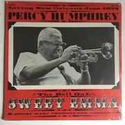 Percy Humphrey Sweet Emma Vocals Living New Orleans Jazz 1974 Stereo Lp Sealed