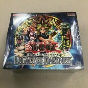 Yu-gi-oh Legacy Of Darkness Booster Box - Sealed 1996 - 36 Packs - Rare