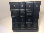 The Oxford Compact English Dictionary,thematic,fowler,thesaurus Set