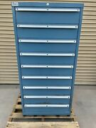 Lista 9 Drawer Tool Storage Industrial Commercial Cabinet 59 1/2 H Nice