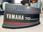 Used Yamaha 2-stroke 70 Hp Precision Blend Top Cowling - Stk 9247