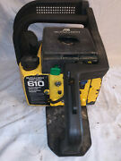 Vintage Mcculloch Pro Mac 610 Chainsaw. Power Head Only.