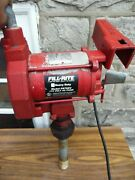 Tuthill Fill-rite Fr700v Heavy Duty Petroleum Fuel Pump With Water Block Filter