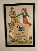 Rare Original The Quiet Man One Sheet Movie Poster 1952 Absolutely Gorgeous