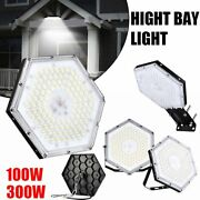 1-20pc Led High Bay Lights Garage Work Shop Ceiling Lamp Outdoor 100wand300w Lamp
