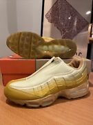 New Nike Air Max 95 Z Zipper Royal Gold Dust Yellow Vintage Antique Moss 2003 10