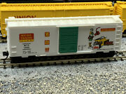 N Scale 1991 Micro Trains Commemorative Freight Car With Mtl Knuckle Couplers.