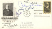 Tom C. Clark - First Day Cover Signed With Co-signers