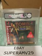 Tomb Raiders Ps1 Japan Release 1997 Vga Graded 85 Archival Case