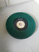 New Minuteman 7591 21 Green Heavy Extreme Duty Disc Brush With Aqua-stop