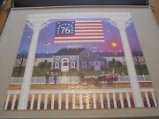 Charles Wysocki 1000 Piece Puzzle Nantucket 4th Of July Complete 2002