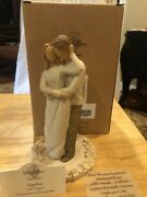 Willow Tree Together Cake Topper Nib Free Ship