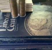 Lincoln Penny Collection - Hundreds Of Coins With Binders/rolls - 1909 Vdb