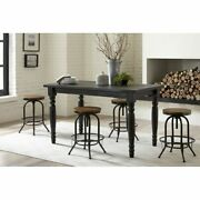 Grain Wood Furniture Valerie Counter High Solid Wood Table -