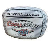 Rare Coors Light Beer Super Bowl Xlii Ring Inflatable Collectible Man Cave Bar