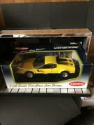 Ferrari 512bb Yellow 1/18 Scale Kyosho Die-cast Car Series Model With Box Japan